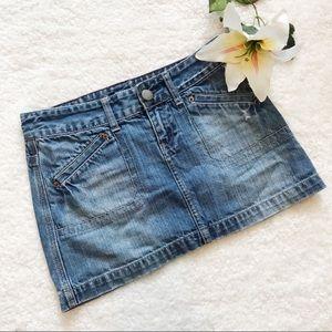 American Eagle Outfitters Denim Mini Skirt BB1